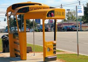 style gak bus stop nie...